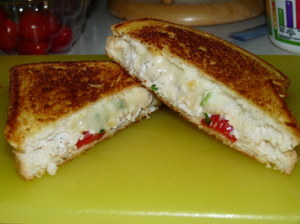 Grilled Turkey Salad Sandwiches