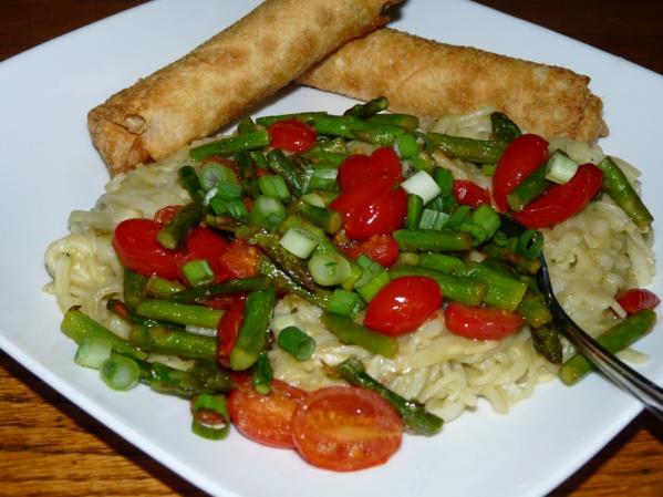 Asparagus Rice Noodles