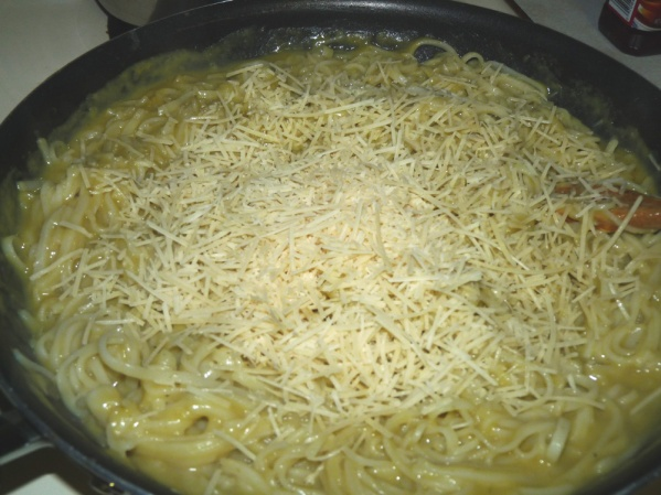 Stir in Parmesan