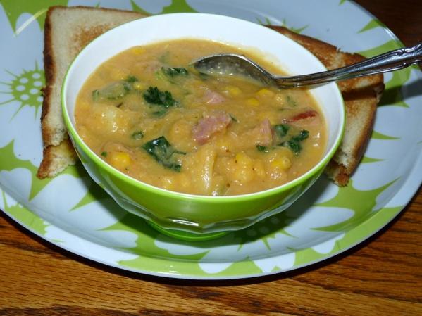 Veggie Ham Chowder