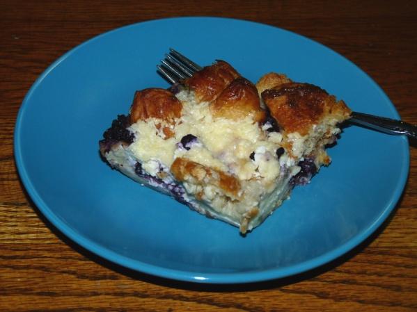 Blueberry Croissant Danish