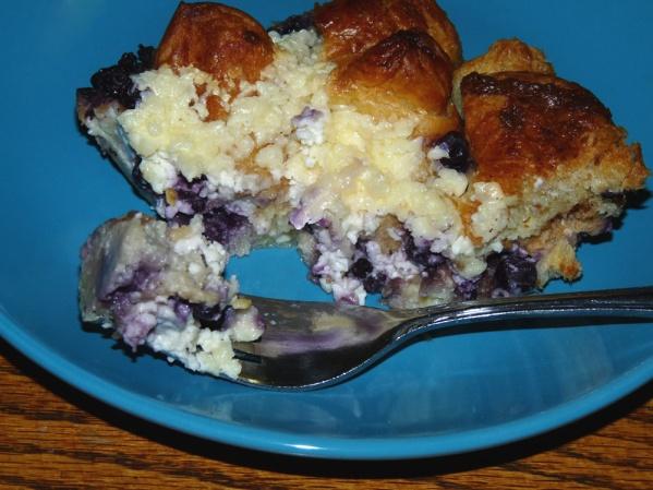 Blueberry Pan Danish
