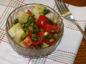 Cucumber Salad with Cumin