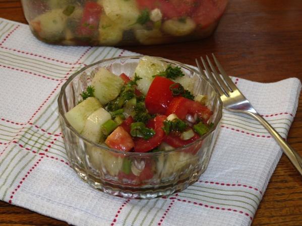 Cucumber Tomato Cumin Salad