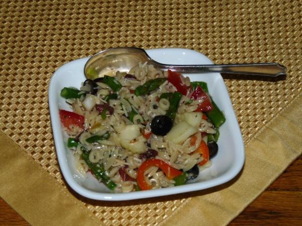 Asparagus Mediterranean Salad