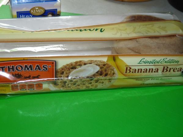 Banana English Muffins