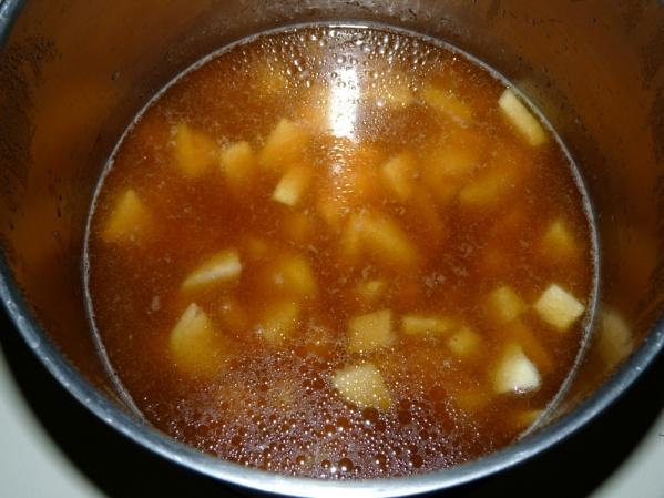 Let potatoes cook for 10 minutes, or until fork tender