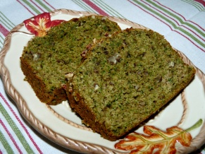Banana Bread with Spinach