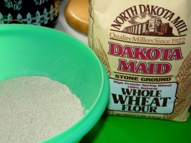 Local whole wheat flour