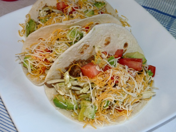 Tacos with Tequila Lime Slaw