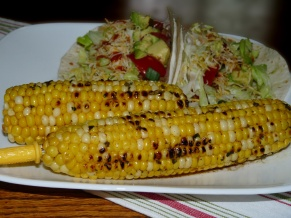 Herb Butter Grilled Corn