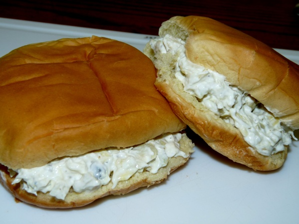 Artichoke Cod Spread on Buns