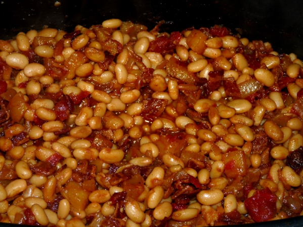 Pineapple Bacon Baked Beans | Lady Melady: My Castle, My Food