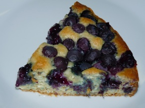 Blueberry Coconut Oil Cake