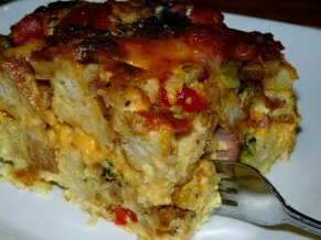 Loaded Egg Bake