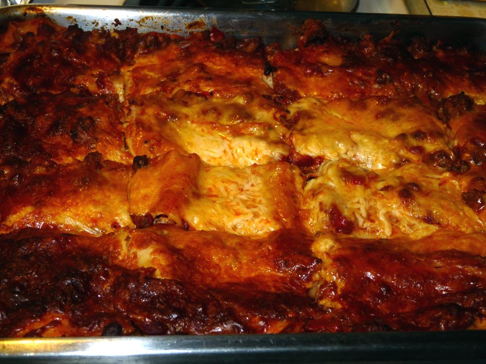 Birthday Lasagna | Lady Melady: My Castle, My Food