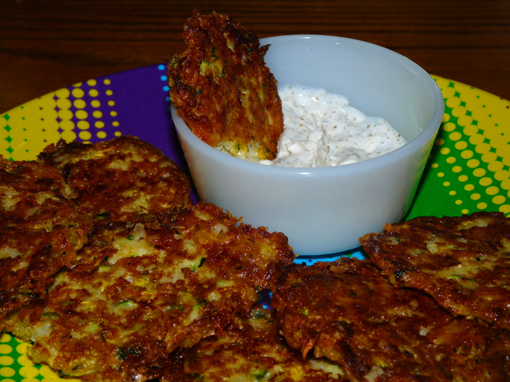 Zucchini and Summer Squash Fritters