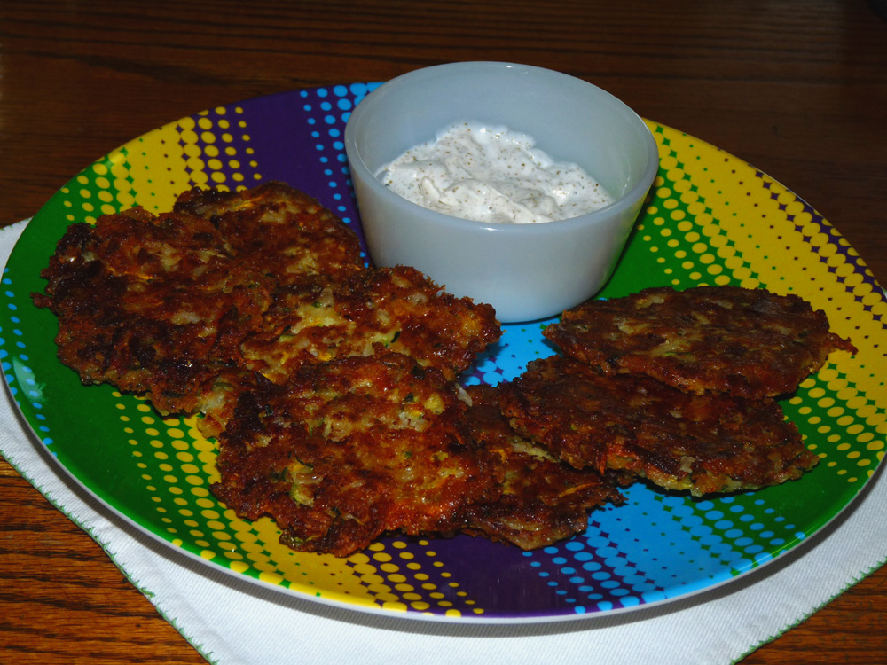 Summer Squash and Zucchini Fritters
