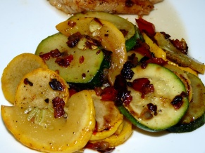 Buttery Stir-fry Zucchini and Summer Squash