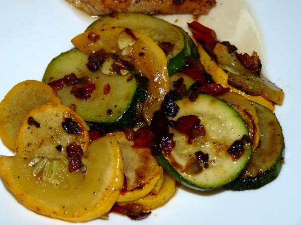 Buttery Stir-fried Zucchini and summer Squash