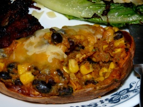 Southwestern Stuffed Sweet Potatoes