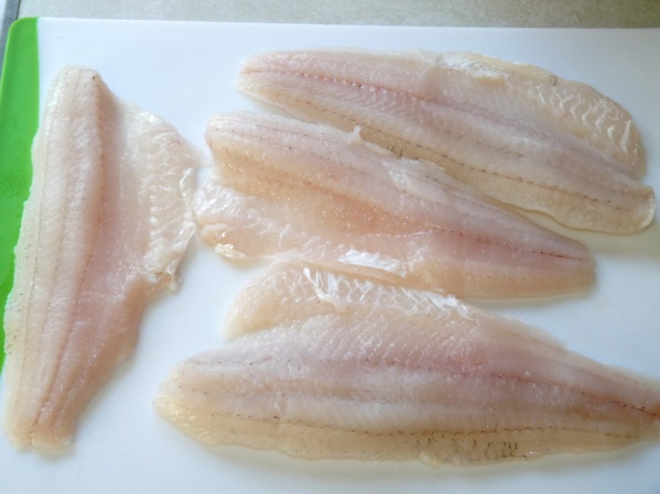 Walleye filets