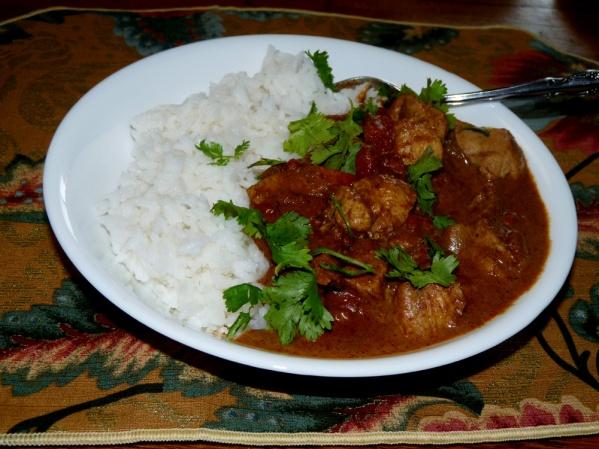 Tikka Masala-style Curry