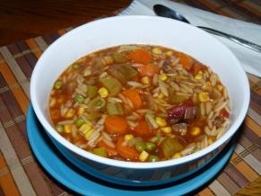 Bone Broth Vegetable Beef Soup