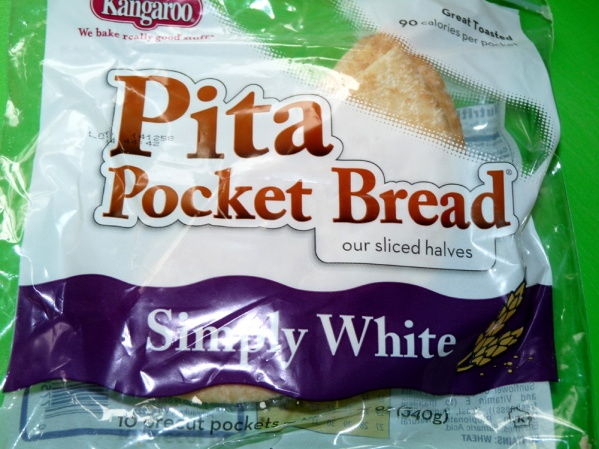 Pita bread with pockets