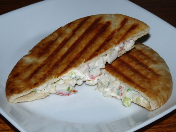 Crab Rangoon Panini