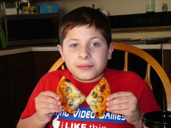 Hunter's pizza bow tie