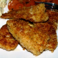 Parmesan Crusted Walleye  {Revisited}
