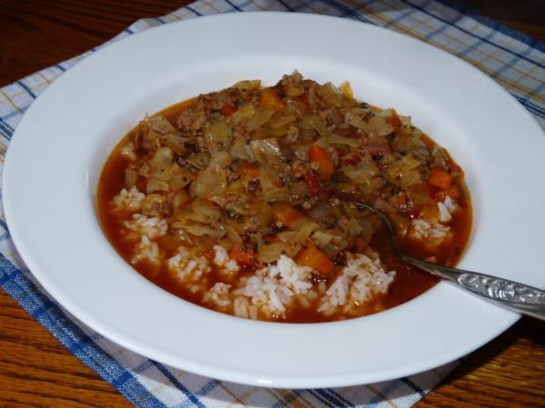 Spicy Cajun Cabbage Soup