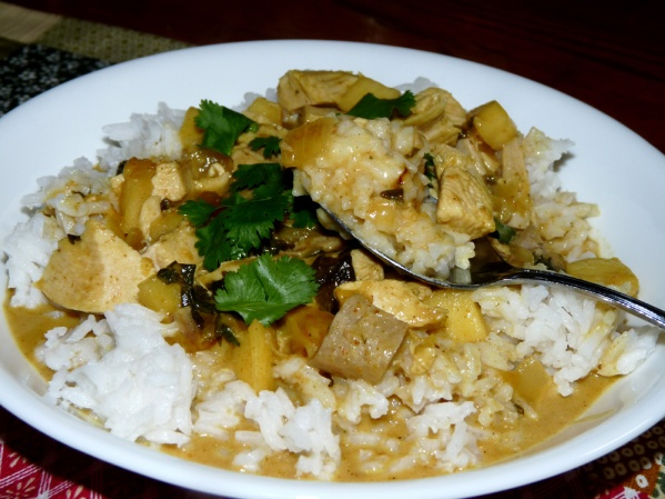 Quick Turkey Curry