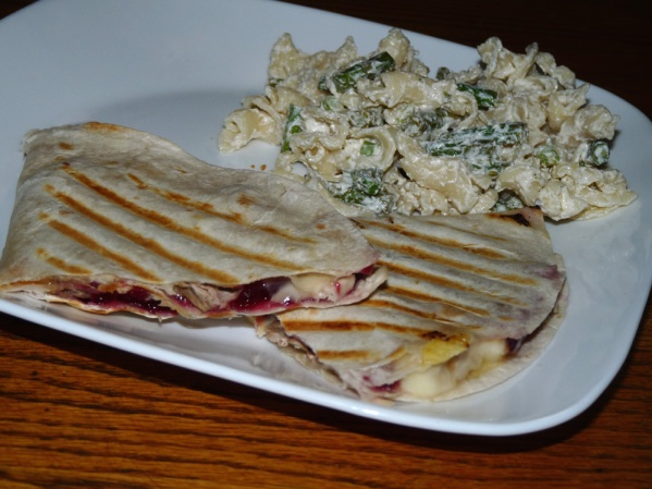 Turkey Cranberry Quesadilla