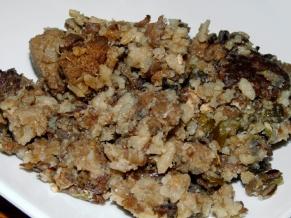 Wild Rice Sausage Mushroom Stuffing