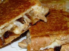 Caramelized Onion Italian Pork Panini
