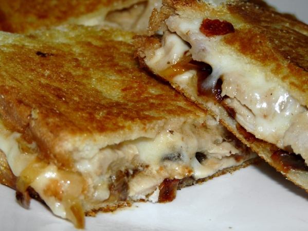 Italian Pork Panini with Caramelized Onions