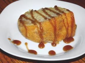 Caramel Apple Bundt with Bourbon