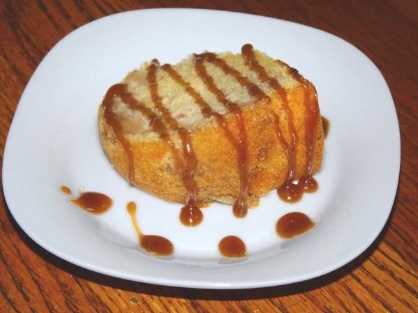 Bourbon Caramel Apple Bundt Cake