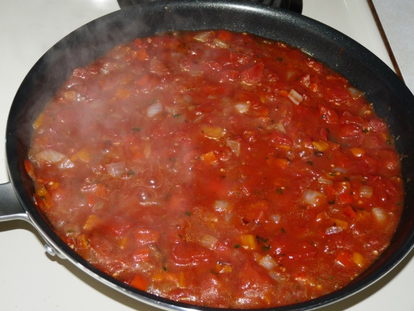 Add tomatoes and simmer for 20-30 minutes