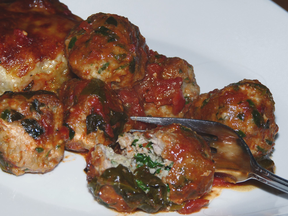 Turkey and Spinach Meatballs | Lady Melady: My Castle, My Food