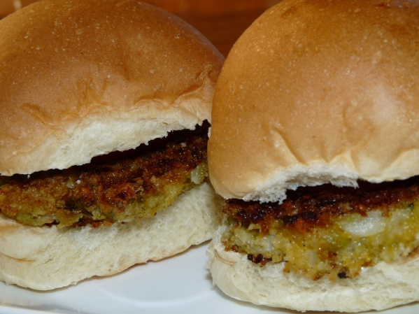 Cauliflower Cheeseburgers