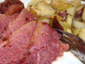 Oven Braised Corned Beef