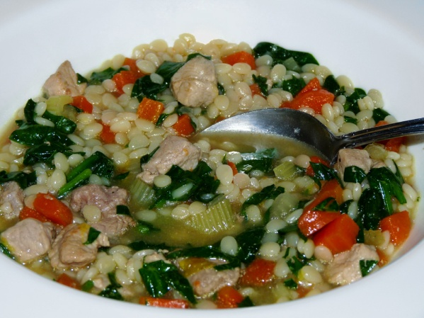Pork and Greens Soup