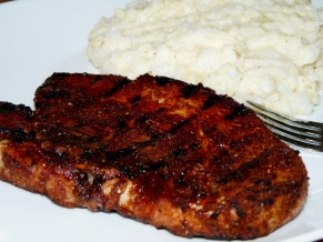 Spice Rubbed And Grilled Pork Chops Lady Melady My