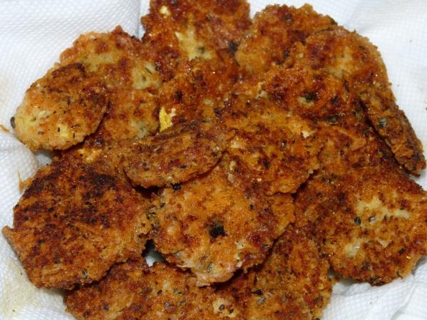 Crispy Zucchini or Summer Squash Bites