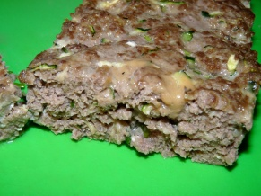 Zucchini Beef Meatloaf
