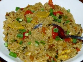 Garden Vegetables Quinoa Bowl