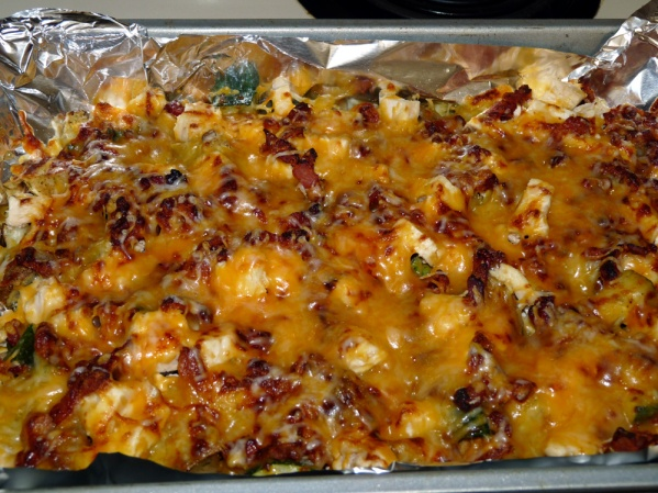 Loaded Baked Potato Casserole with Zucchini